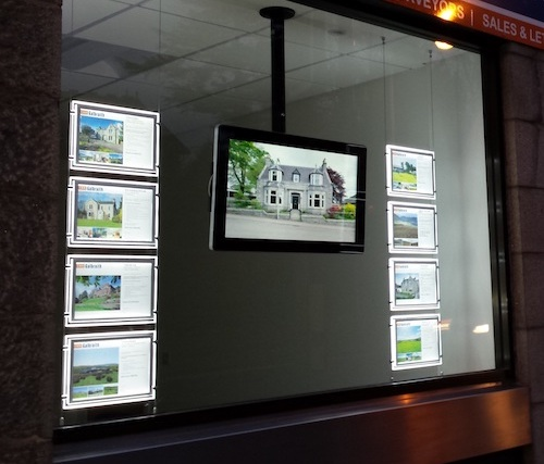 Real-Estate-Backlit-Digital-LCD-Display