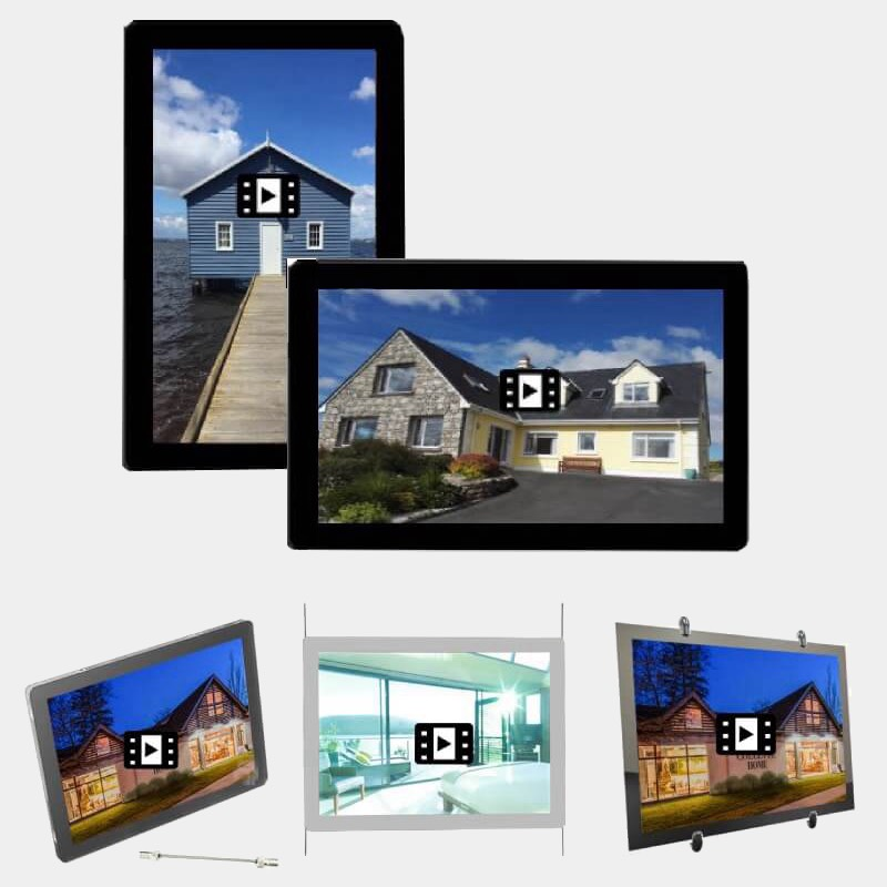 2019 Real Estate Window Lcd Display