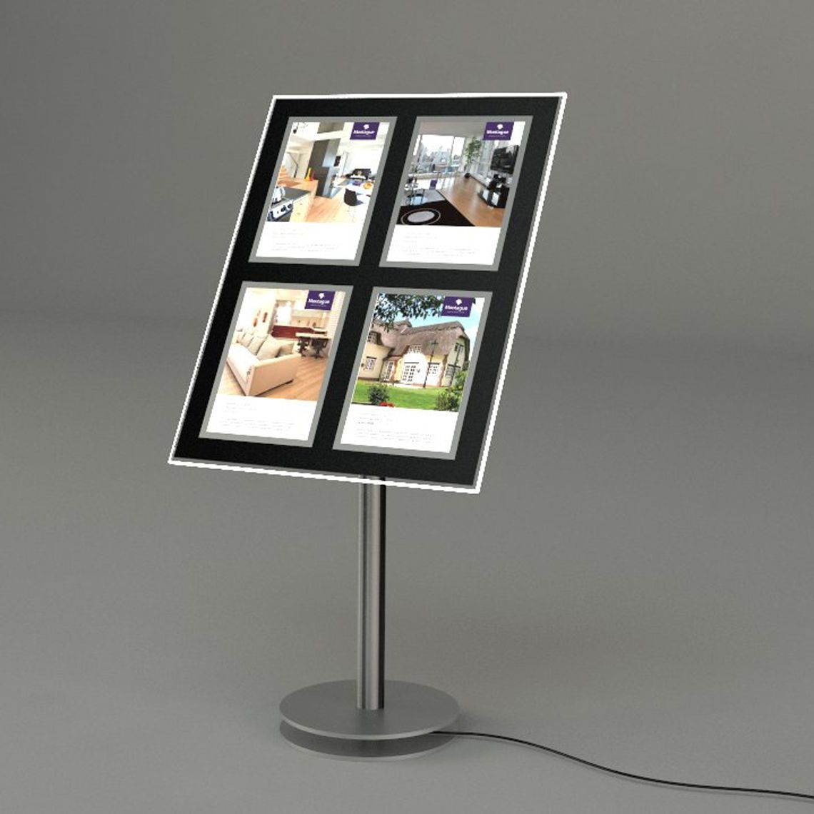 Floor Stand Led Window Display
