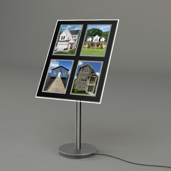 Floor-Stand-Real-Estate-Led-Poster-Frame