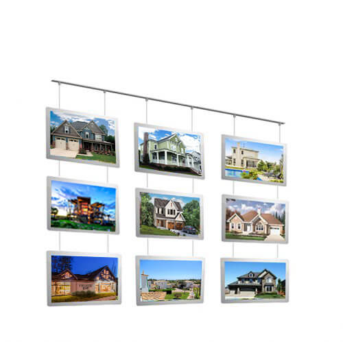 Hot-Selling-Real-estate-led-window-display-led-poster-frame-led-light-sign