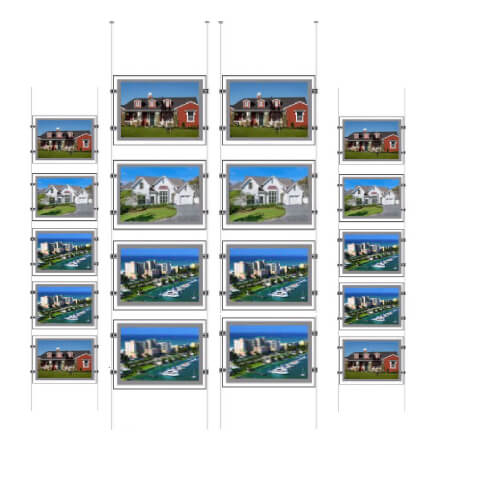 Real-Estate-Agency-Poster-Frame-Led-Light-Pocket-Window-Listing-Sign-Display