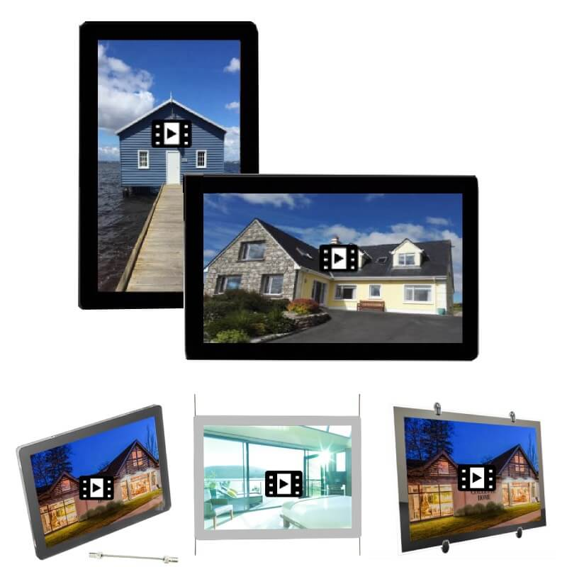 Real-Estate-Window-Lcd-Display