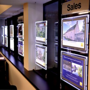 Real-Estate-Window-Light-Photo-Frame-Crystal-Led-Light-Box-Advertising-Backlit-Window-Display