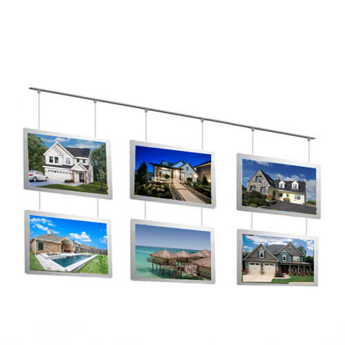 Real-estate-agent-hang-acrylic-led-window-sign-display
