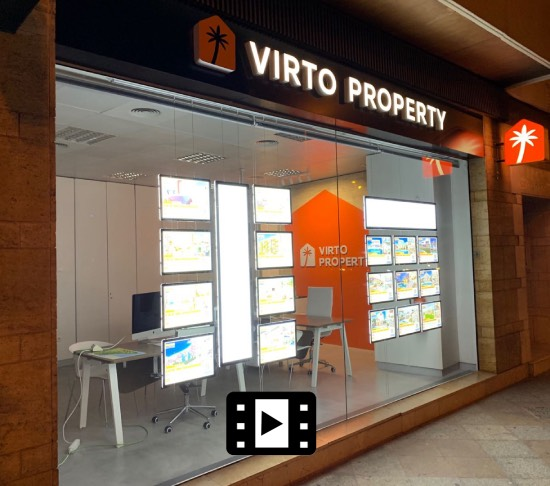 Wholesale real estate digital window displays