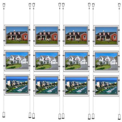 Innovative-suspended-real-estate-led-image-holders