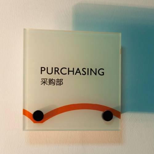 Acrylic Signage Standoff