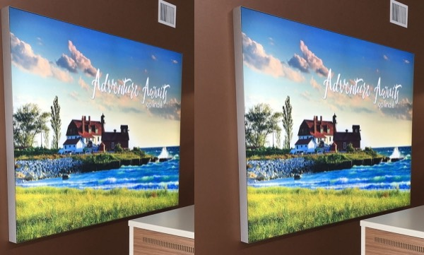 Led Window Light Boxes Window Graphics Poster Printing Uk Framless Frames