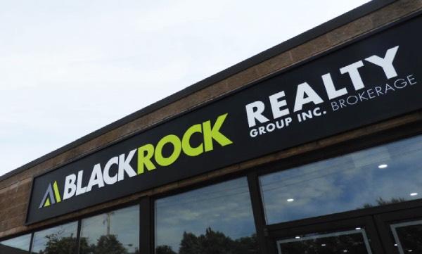 real estate led sign letter