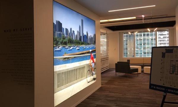 Real Estate Fabric Light Box Discount Displays
