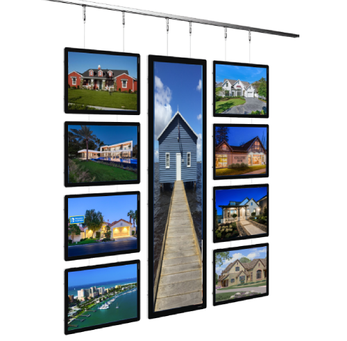 Estate Agent Led Banner Window Displays