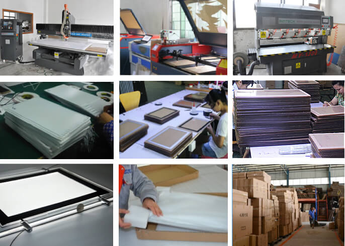 Detailed LED Estate Agent Window Display Manufacturing Process