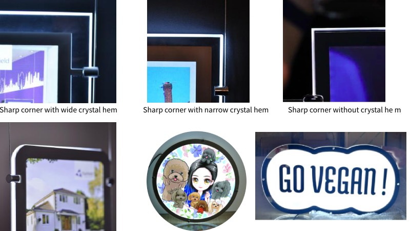 Display corner Style