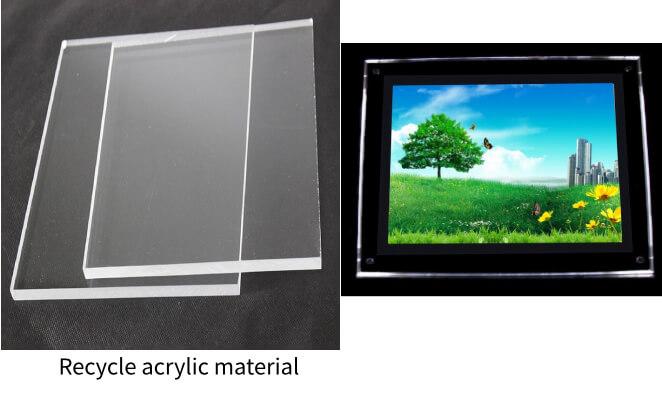 recycle acrylic sheet