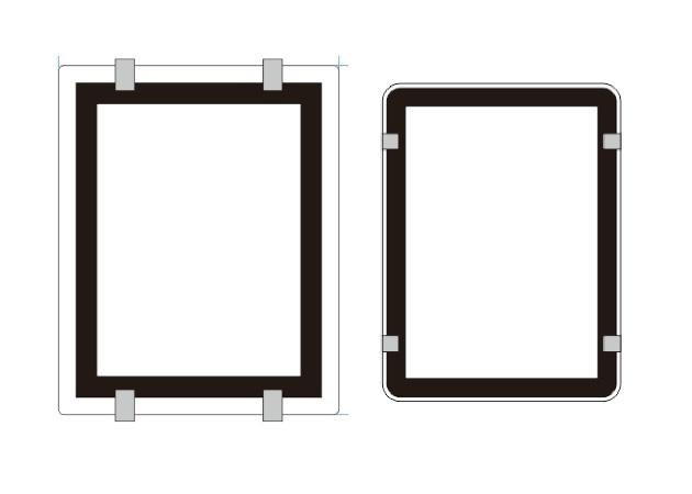 Window Display Size Template