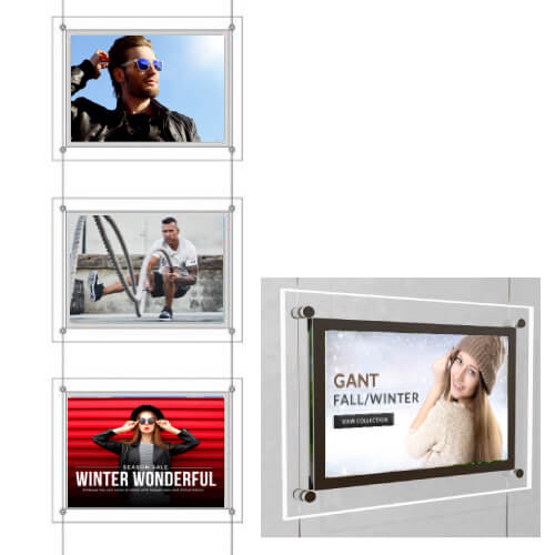 retail edgelit window display
