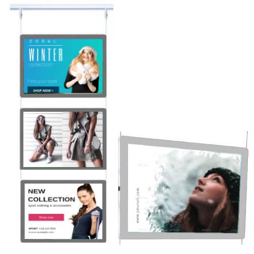 retail led poster frames