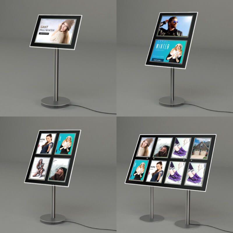 floor stand led window displays